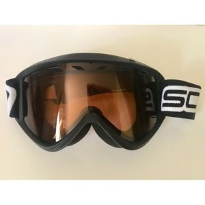 Scott Snowboarding Goggles with Amber Tint